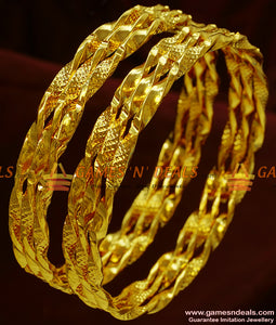 Twisted Bangles Set for Marriage