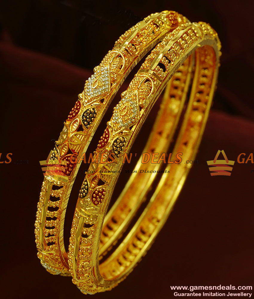 High Gold Forming Bangles