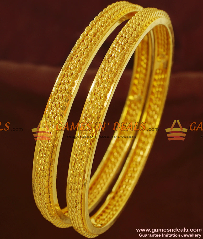 One Gram Gold Bangles Set