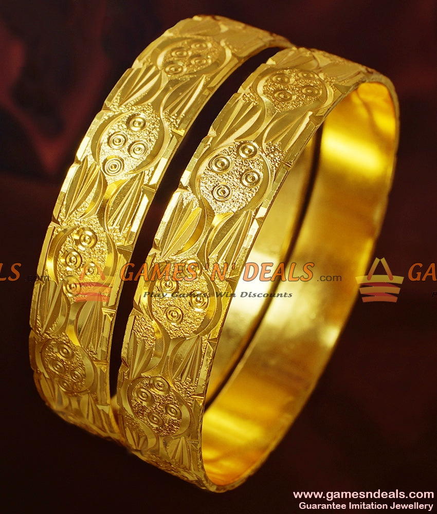Broad Shiny Gold Design Kadaa
