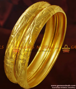 Shiny Attractive Gold Design Bangles