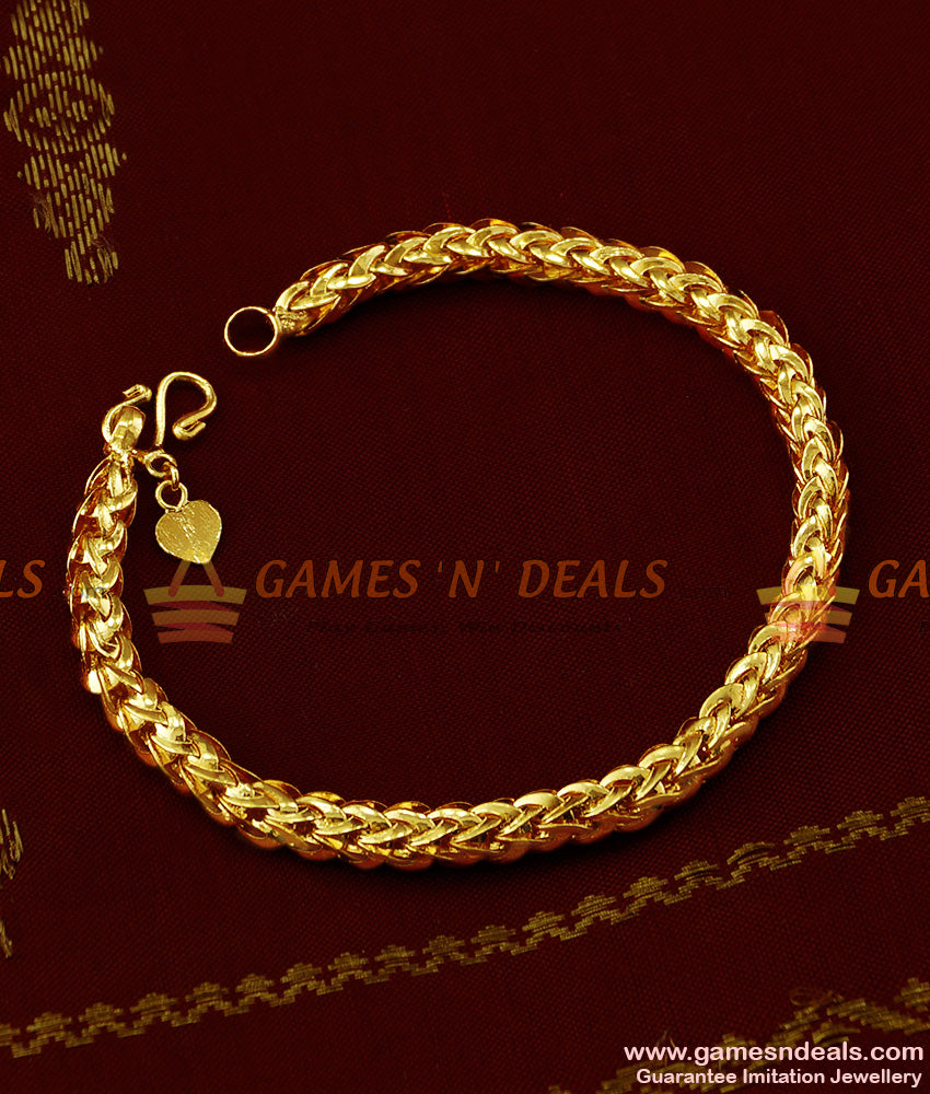 BRAC016 - 100mg Gram Gold Micro Plated Imitation Bracelet Best Selling Jewelry Online