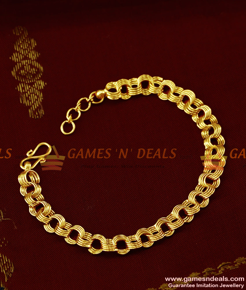 BRAC018 - Pure Gold Micro Plated Imitation Bracelet Best Selling Jewelry Online