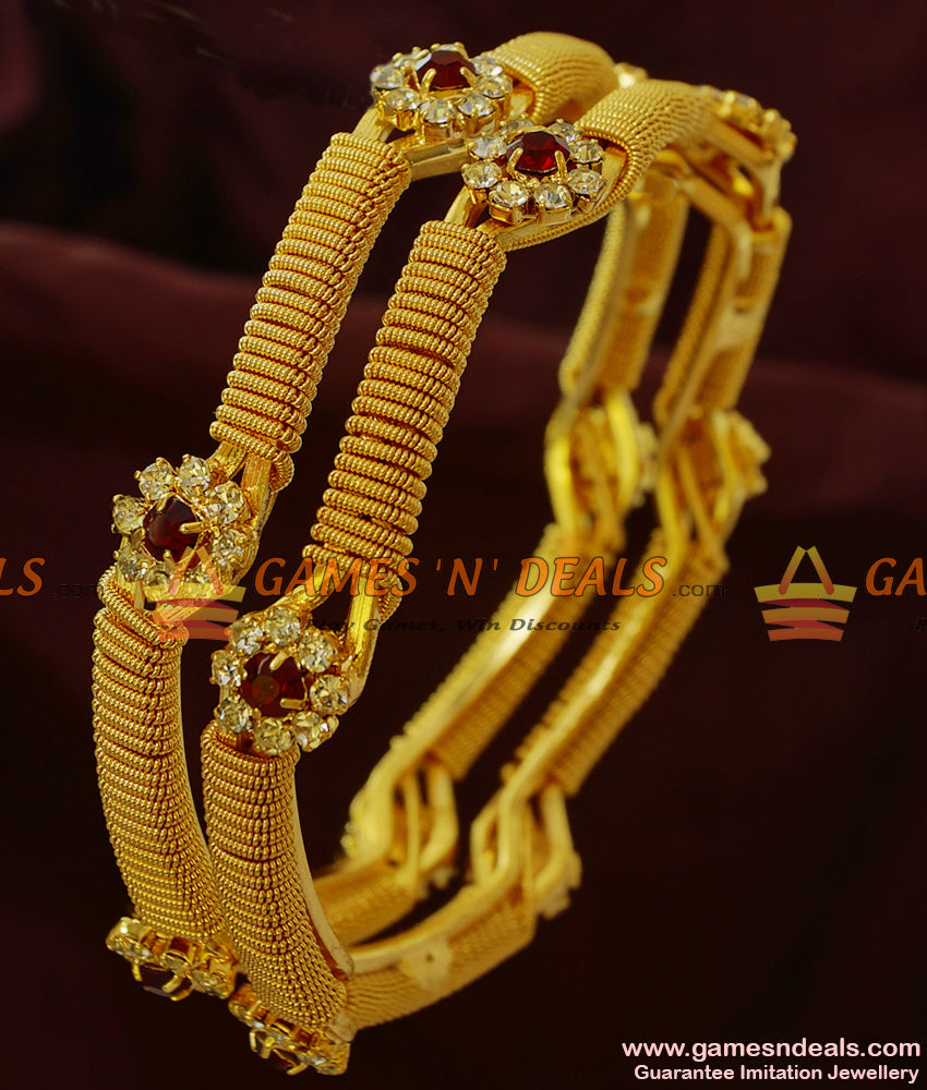 Grand Stone Bangles for Marriage