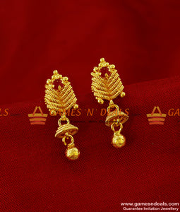 ER247 - AD Stone Flower Design College Girls Trendy Imitation Ear Rings