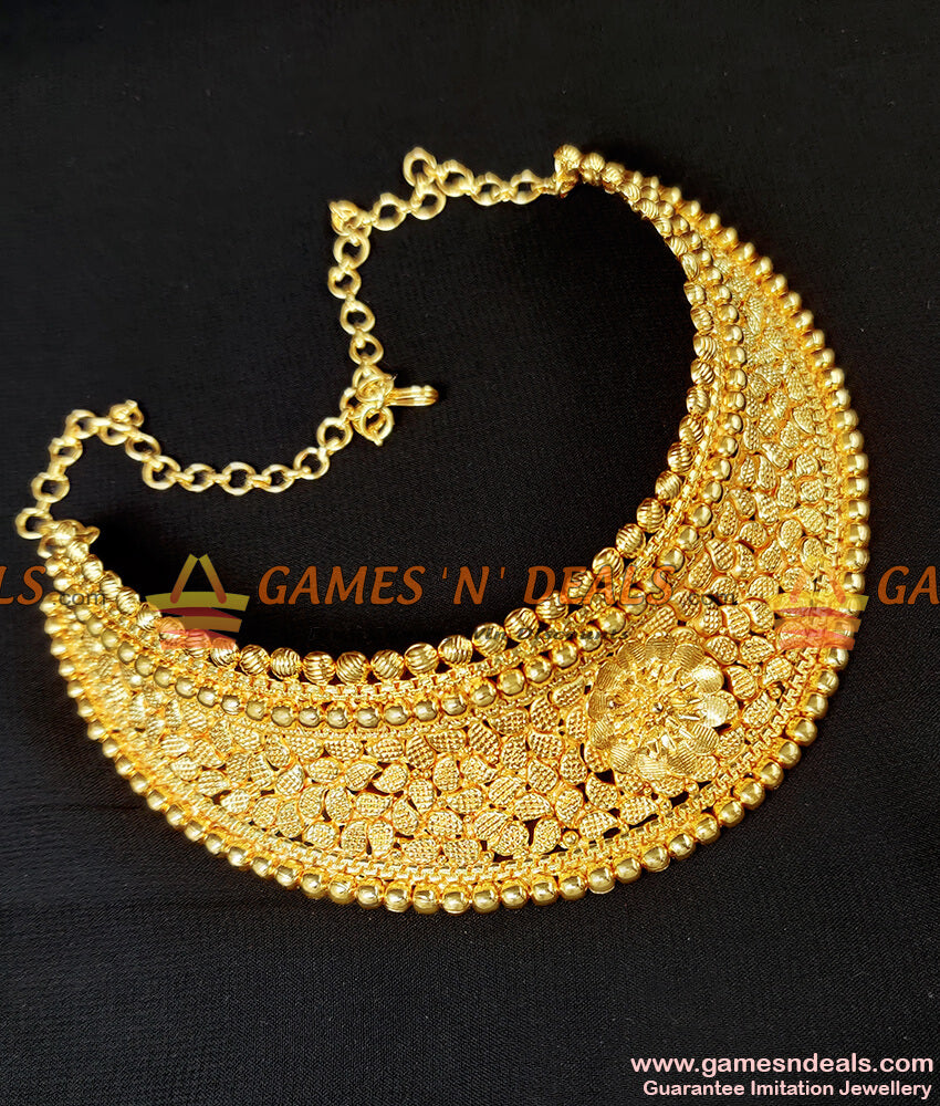 Grand Choker Necklace for Marriage Women and 25-30 Years Girls