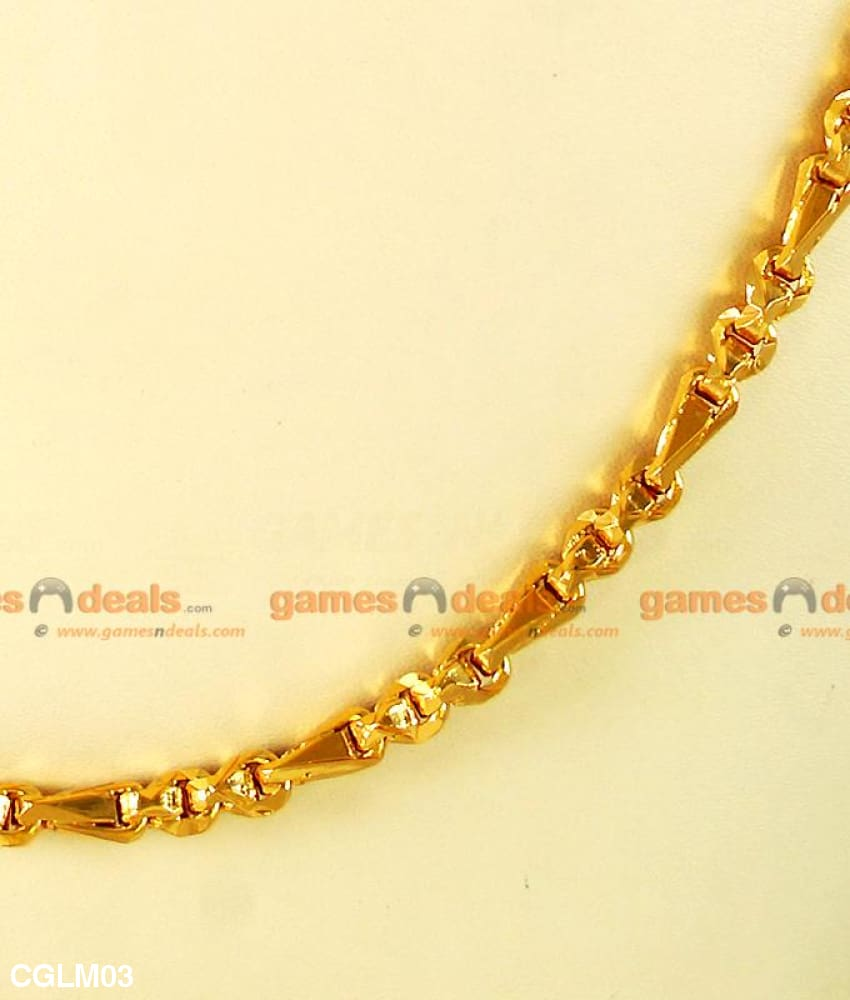 Wheat Chain For Daily Use 24kt Real Gold Plated First Quality
