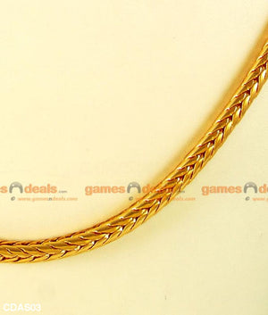 South Indian Thiru Mangalyam Kodi (Thali Saradu) Knitted Design Chain
