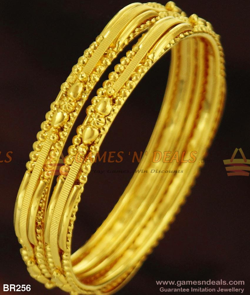 Unique Two Pieces College Wear Curvy Thin Bangles Set For Ladies Daily Use Buy Online 2.4 Bangle