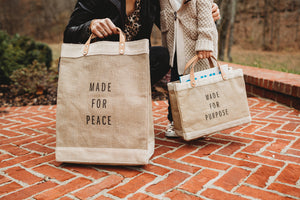 Made for Peace Market Bag