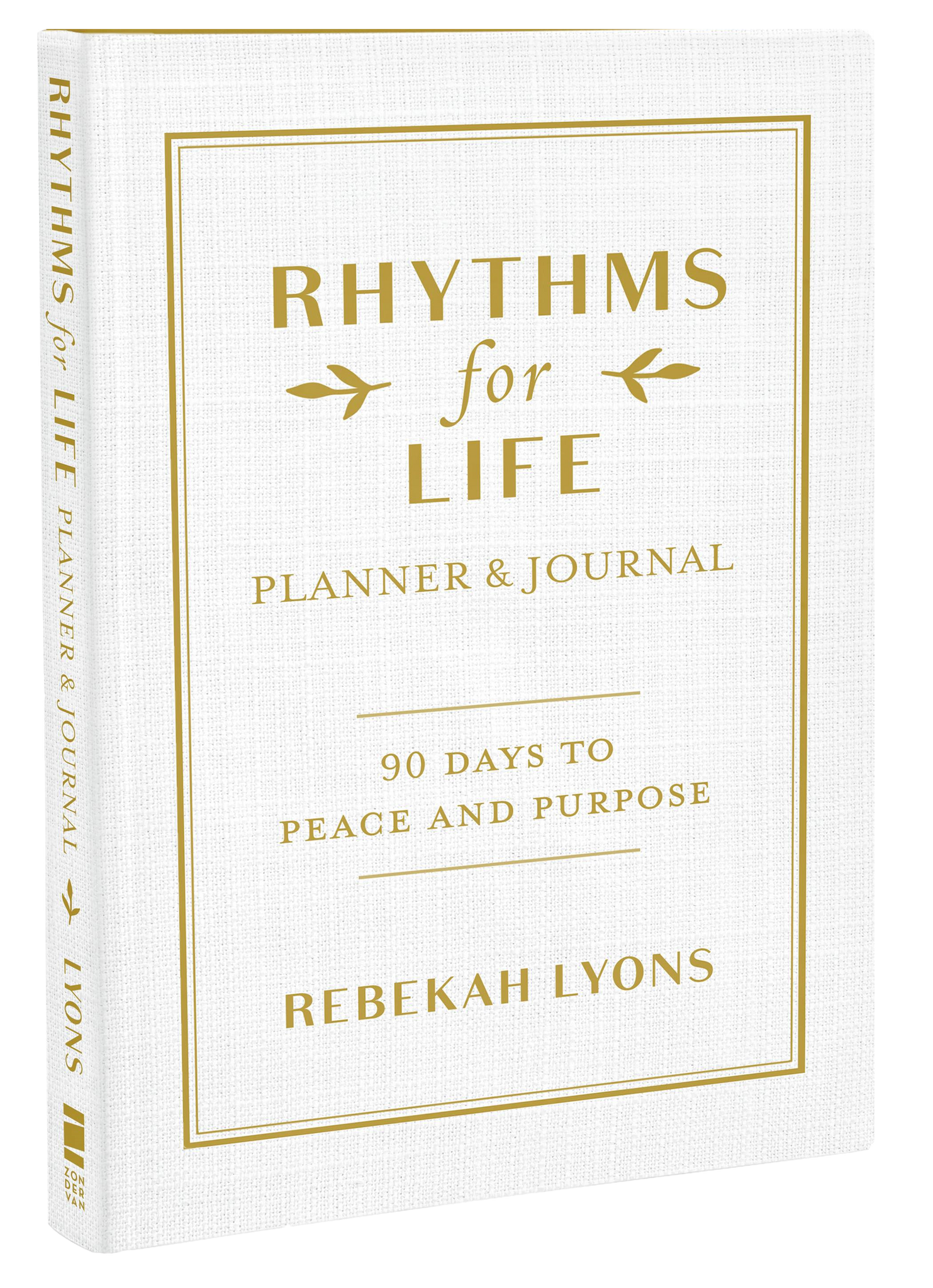 Autographed Copy of Rhythms for Life Planner & Journal