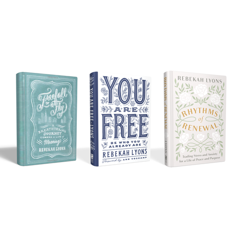 Autographed Three Book Bundle