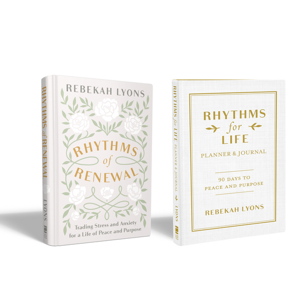 Autographed Rhythms Book and Planner Bundle