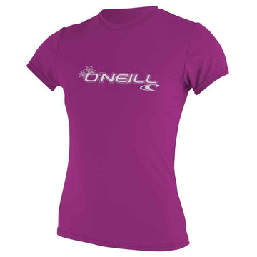 O'Neill Womens Basic Skins Rash Tee
