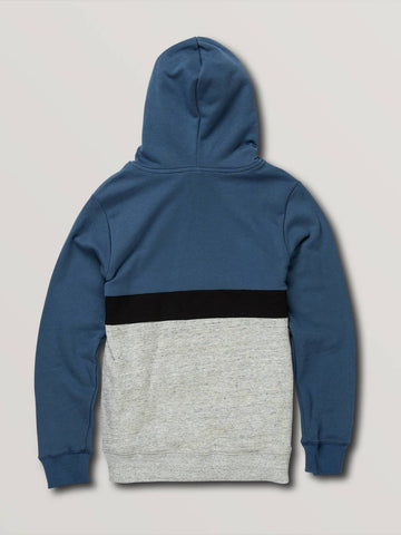 BOYS SINGLE STONE DIVISION PULLOVER - SMOKEY BLUE