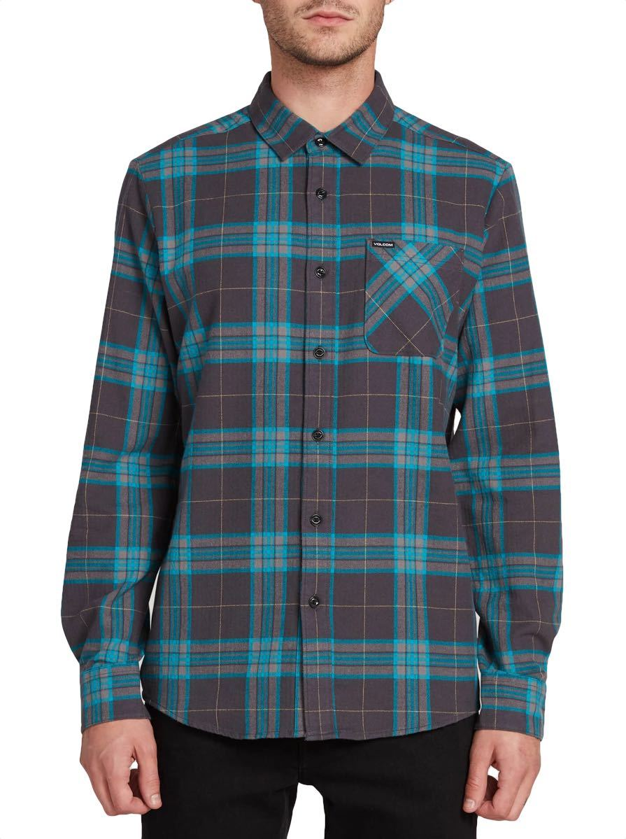 Volcom Caden Plaid Flannel