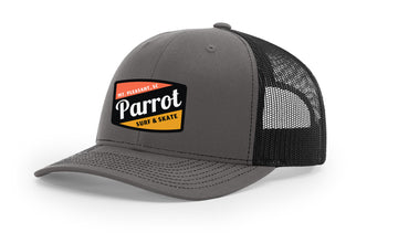 PSS 112 Work Hat CHR/BLK