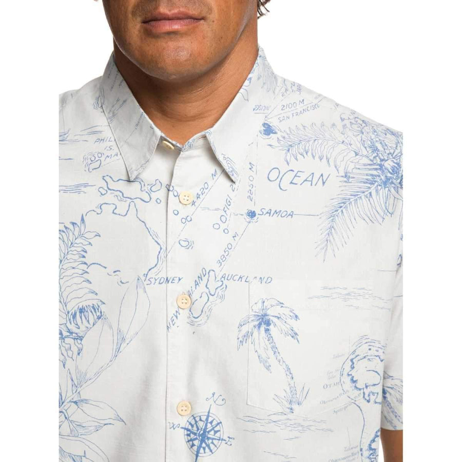 Quiksilver Waterman Pacific Records Shirt
