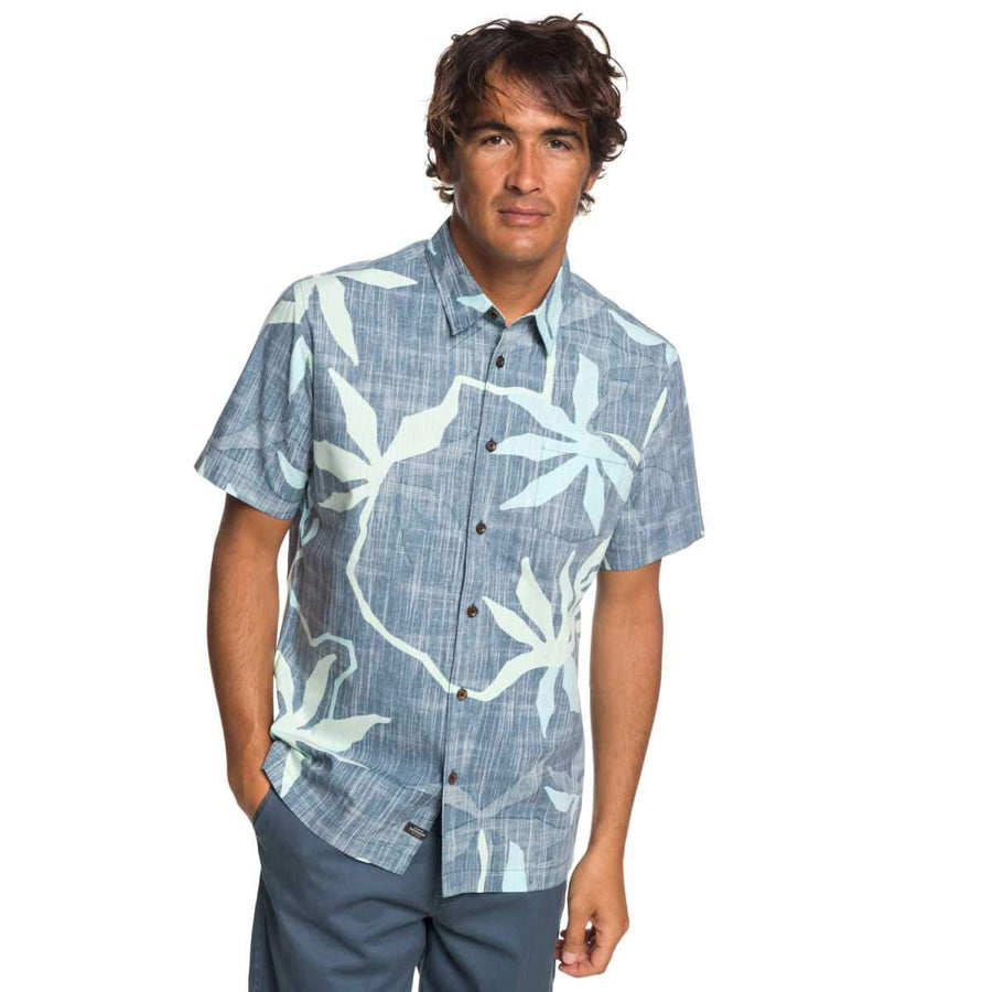 Quiksilver Waterman Gully Floral Shirt
