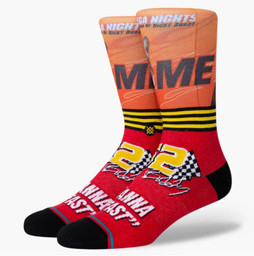 I Wanna Go Fast Sock