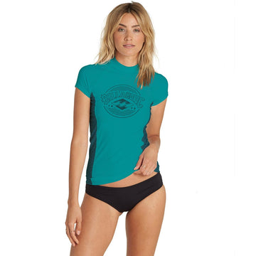 Billabong Womens Surf Dayz S/S Rashguard