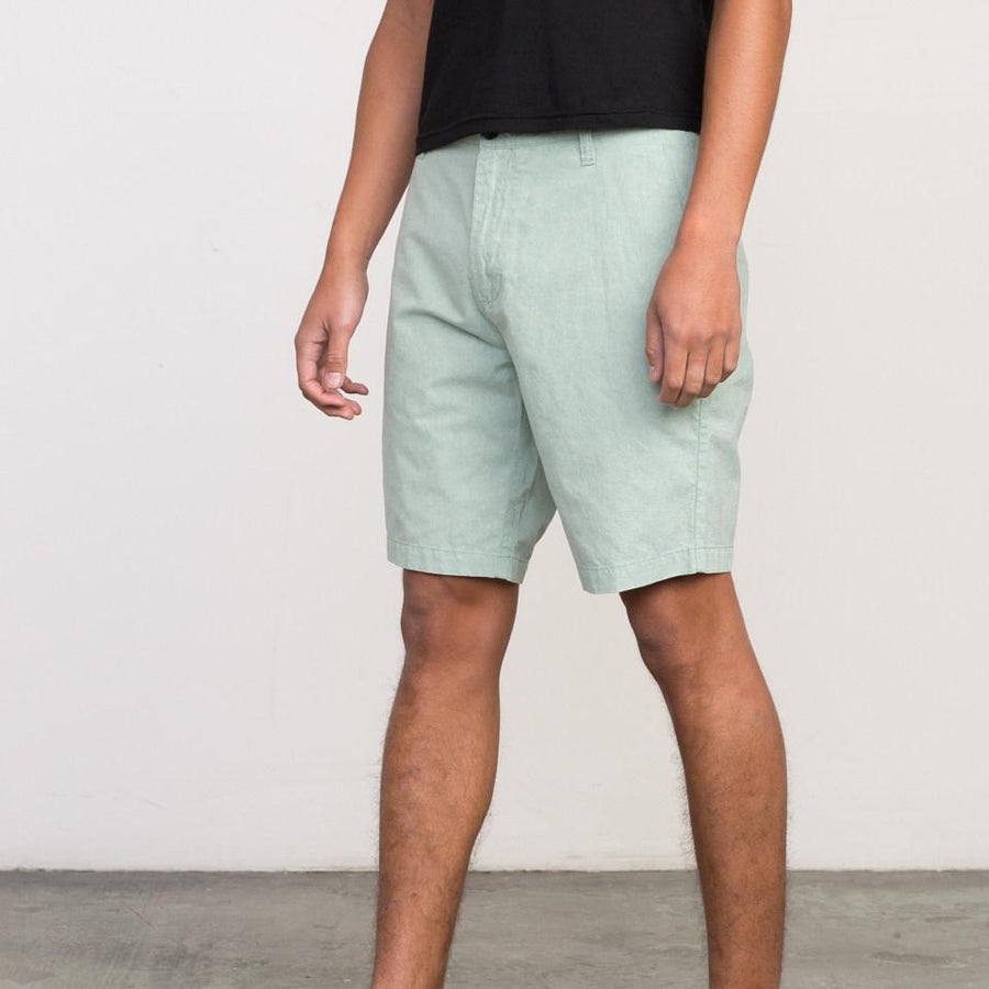 RVCA Mens That Will Walk Oxford Shorts