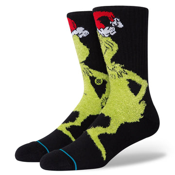 Mr Grinch Sock