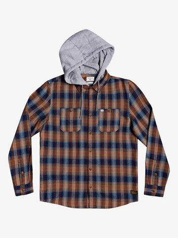 Old Loggers Hooded Flannel