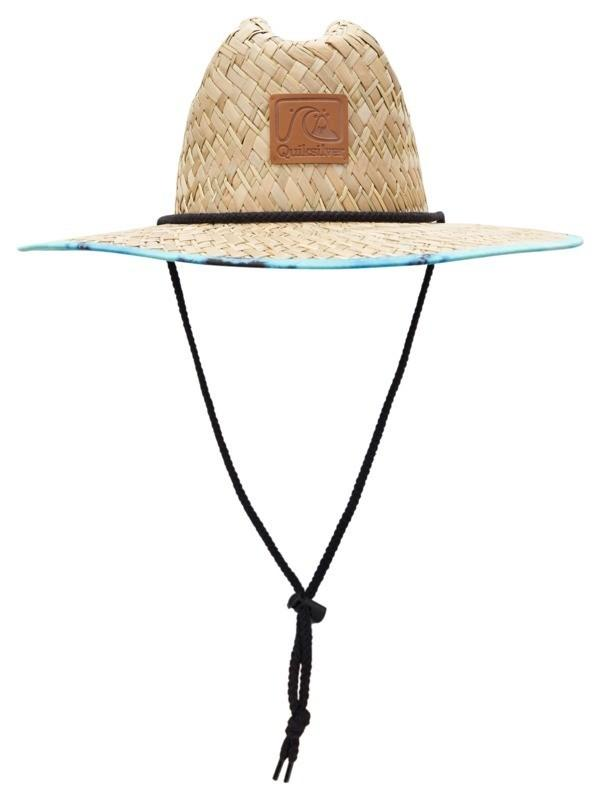 Outsider Print Straw Hat