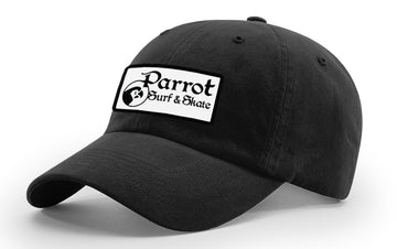 PSS R55 BW Patch Hat BLK