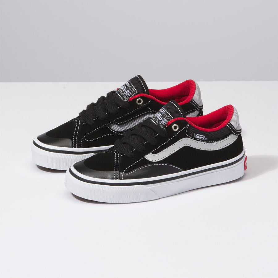 Vans Kids TNT Advanced BLK-WHT-RED BWT