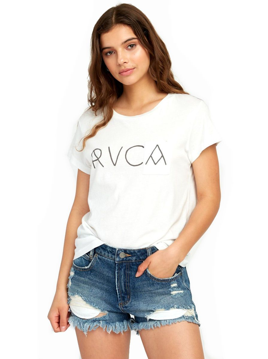 RVCA Angler Relaxed Pocket Tee