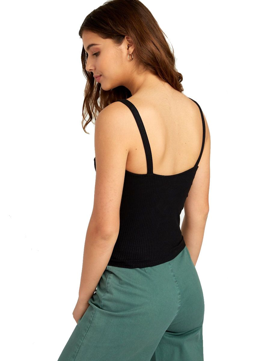 RVCA Go For Broke Ribbed Tank Top