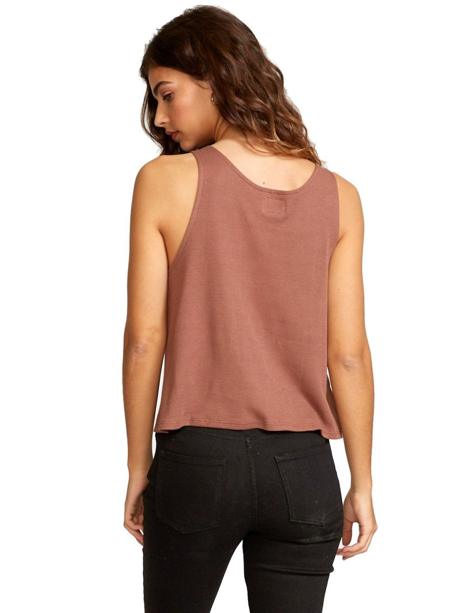 RVCA Portal Thermal Knit Tank Top