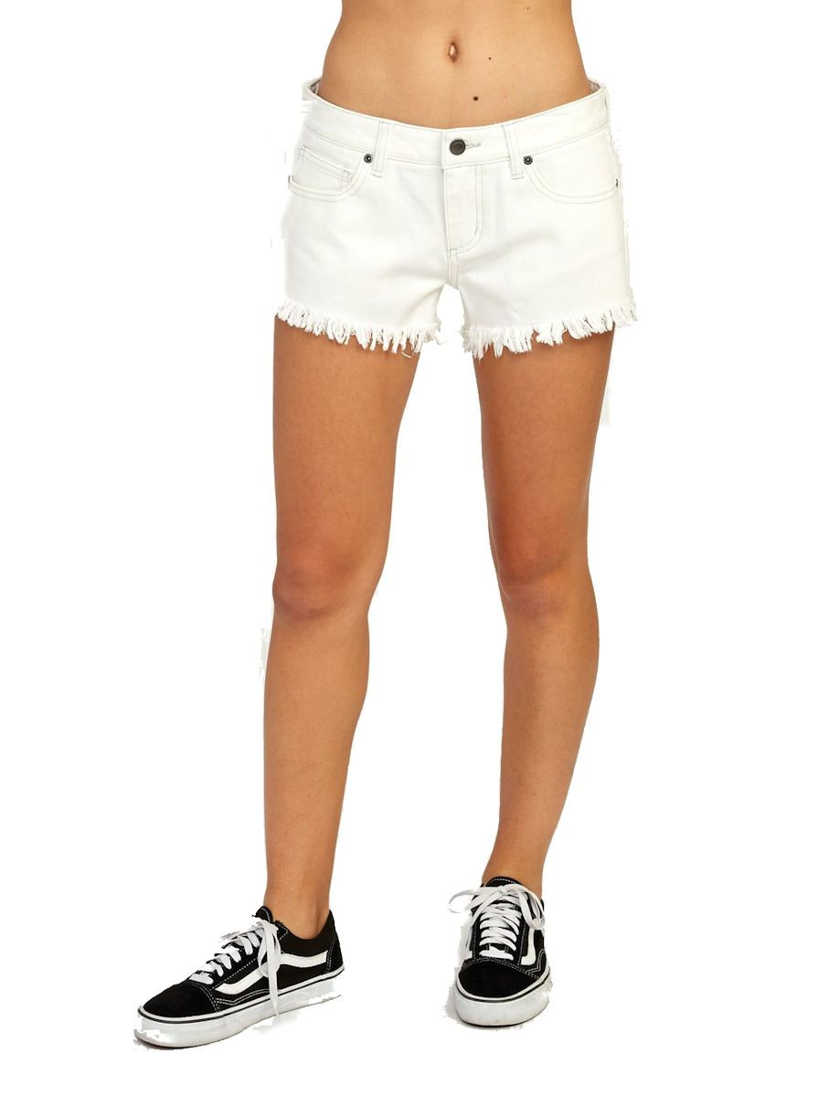 RVCA Hello Mellow Denim Cutoff Shorts