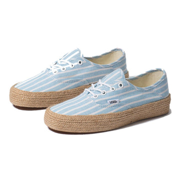 Vans Womens Striped Linded Authentic AKBLUE/WHT VKI