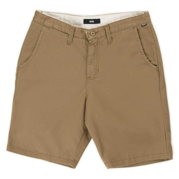 Vans Mens Authentic Stretch Shorts - Dirt - DZ9