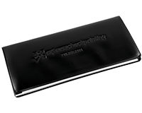 Checkbook Cover (Black)