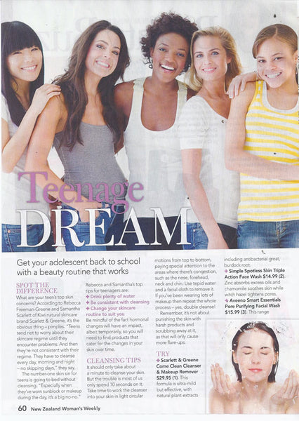 Womens Weekly Teenage Dream