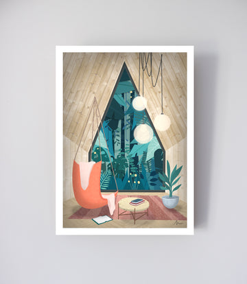 Atmospheric Pillow - Affiche Cocon