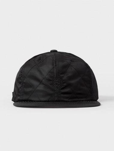 STUSSY QUILTED STRAPBACK CAP