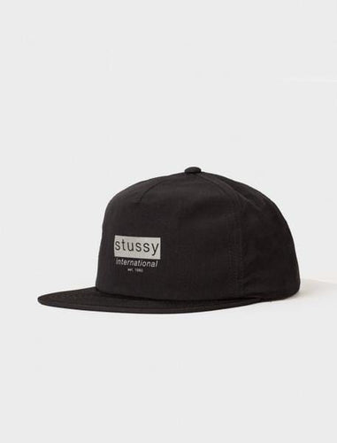 STUSSY REFLECTIVE TAPE CAP