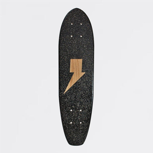 OTHERSIDE PROJECT BLACK  THUNDER EDITION SKATEBOARD