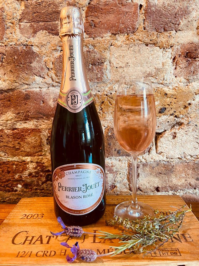 Perrier - Jouet Blansan Rose Champagne