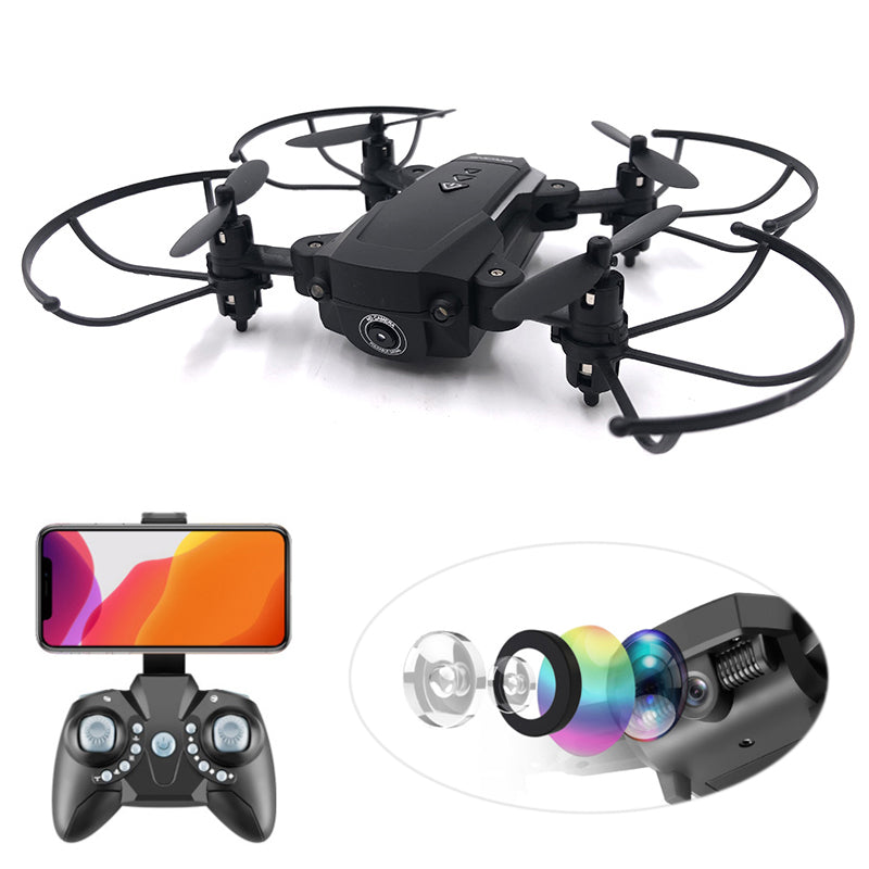 Folding Quadcopter HD 1080p Wifi FPV Drone Camera - King of Hobbies