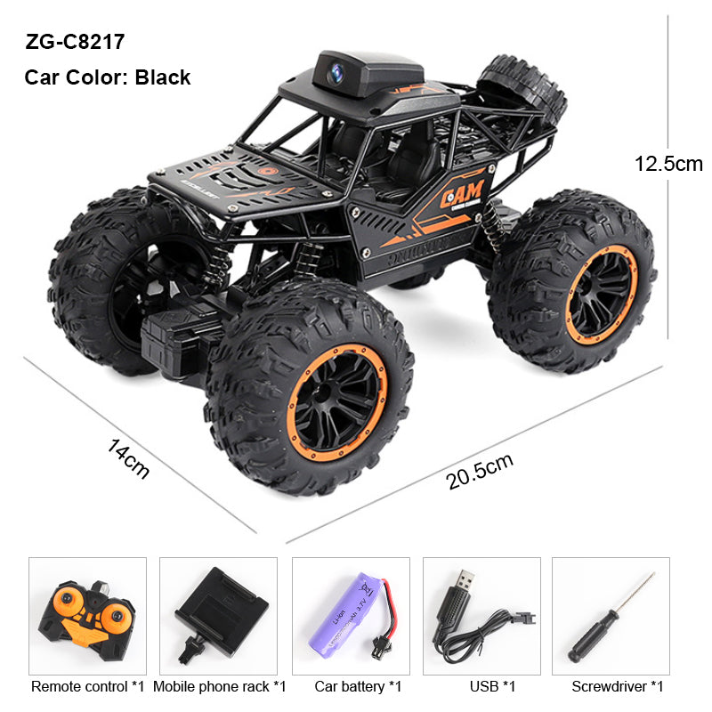 RC Truck 4x4 720P FPV Camera. King of Hobbies