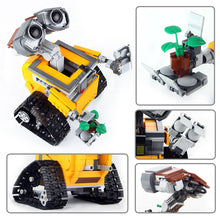 Load image into Gallery viewer, 687PCS Idea Robot WALL E Lepining 21303 Model Building Blocks Kit Toys For Children Education Gift Bricks Toys