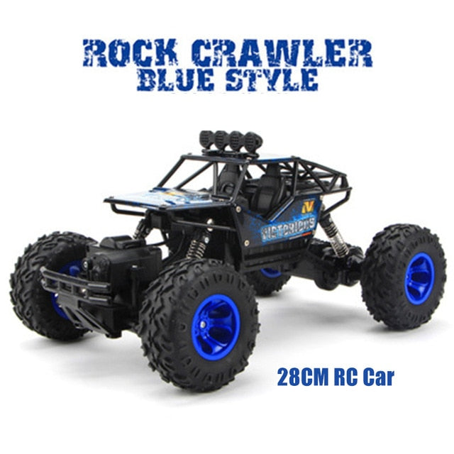 Rock Crawler 1:12 4WD RC Car 2.4G Radio Control Car Toys Off-Road Trucks