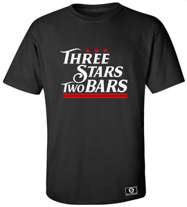 Three Stars Two Bars T-Shirt