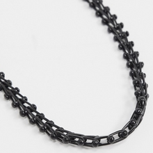 Load image into Gallery viewer, Black Chunky Neck Chain